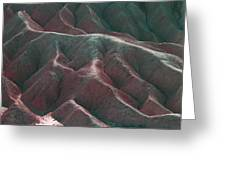 Death Valley Mountains 3 Greeting Card
