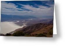 Death Valley Vista Greeting Card