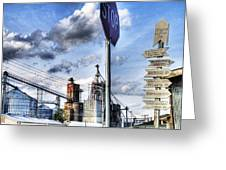 Decatur Alabama Industrial District Greeting Card