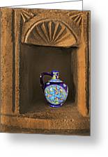Decorative Carafe In An Alcove Greeting Card
