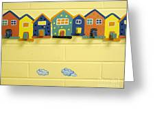 Decorative Coat Hooks Greeting Card