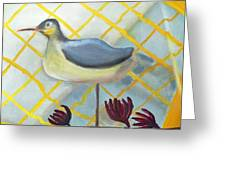 Decoy On A Stand Greeting Card