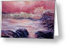 Dee Why Storm Greeting Card
