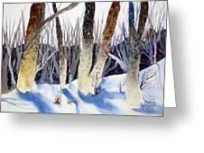 Deep Woods 1 Greeting Card