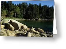 Deer Isle Maine Greeting Card