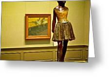 Degas Greeting Card