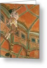 Degas: Miss La La Greeting Card