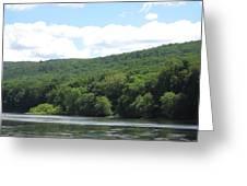 Delaware Water Gap Scenery Greeting Card