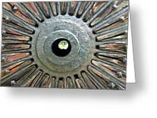 Deleon Springs Wheel Spoke Greeting Card