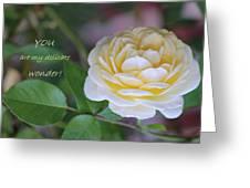 Delicate Wonder Greeting Card