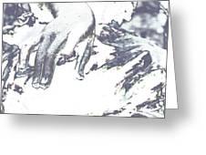 Deliquescent Crystals Greeting Card