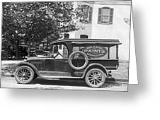 Delivery Truck 1916 Greeting Card