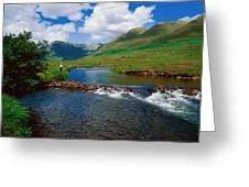 Delphi Fishery, Co Mayo, Ireland Greeting Card