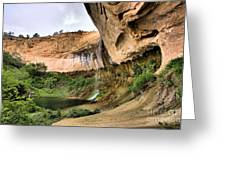 Demon Canyon Greeting Card