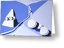 Denizens Two Greeting Card