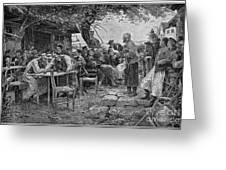 Denmark: Fishermen, 1901 Greeting Card
