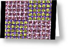 Denzone Tile 3 Greeting Card