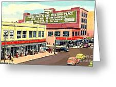 Department Stores In Sioux Falls S D Greeting Card