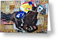 Derby Tickets 4 Greeting Card