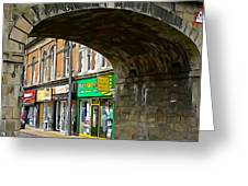 Derry Shops Greeting Card