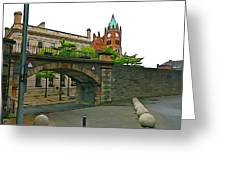 Derry Walls Greeting Card