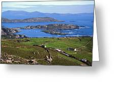 Derrynane Harbour, Caherdaniel, Ring Of Greeting Card