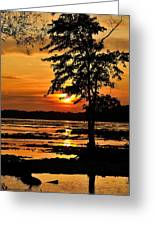 Deschenes Sunset Greeting Card
