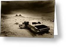 Desert Arizona Usa Greeting Card