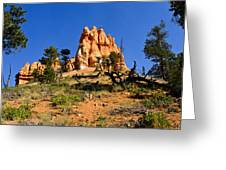 Desert Landscape Le Greeting Card