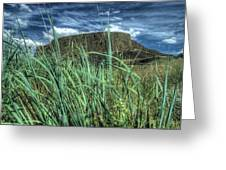 Desert Monolith Greeting Card