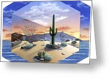 Desert On My Mind 2 Greeting Card