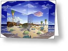 Desert On My Mind Greeting Card