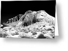 Desert Rock Greeting Card
