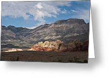 Desert Sunlight Greeting Card