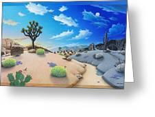 Desert Timeline Greeting Card