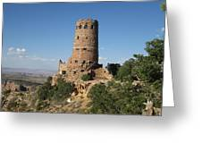 Desert Watchtower Greeting Card