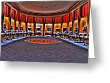 Detroit Pistons Locker Room Auburn Hills Mi Greeting Card