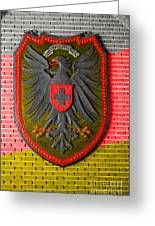 Deutsch Weimarer Shield Greeting Card
