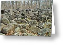 Devil's Potato Patch - Montgomery County - Pennsylvania Greeting Card