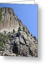 Devil's Tower 2 Greeting Card