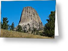 Devils Tower Wyoming -2 Greeting Card