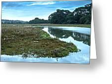 Devoran River Greeting Card