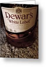 Dewars White Label Greeting Card