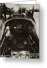 Dh-4 Aeroplane Radio Greeting Card by Miriam And Ira D. Wallach Division Of Art, Prints And Photographsnew York Public Library