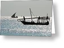 Dhows Greeting Card