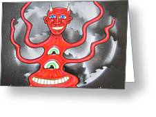 Diabolous Tribus  A Greeting Card