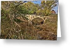 Diamond Creek Double Arch Bridge Greeting Card