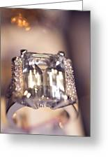 Diamond Ring. Spirit Of Treasure Greeting Card