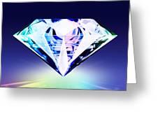 Diamond Greeting Card by Setsiri Silapasuwanchai