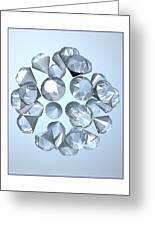 Diamonds... Greeting Card